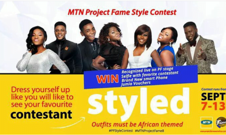 MTN project fame style contest