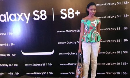 Oma Ehiri at the launch of Samsung Galaxy S8 and S8+