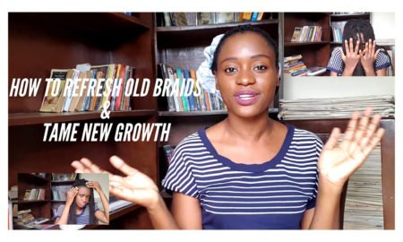 how to refresh your braids