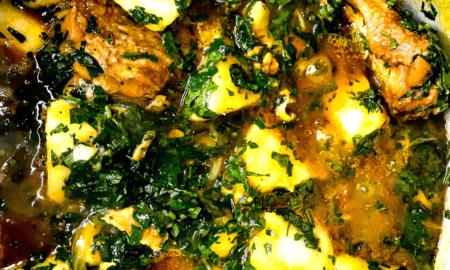 how to make porridge yam with smoked fish