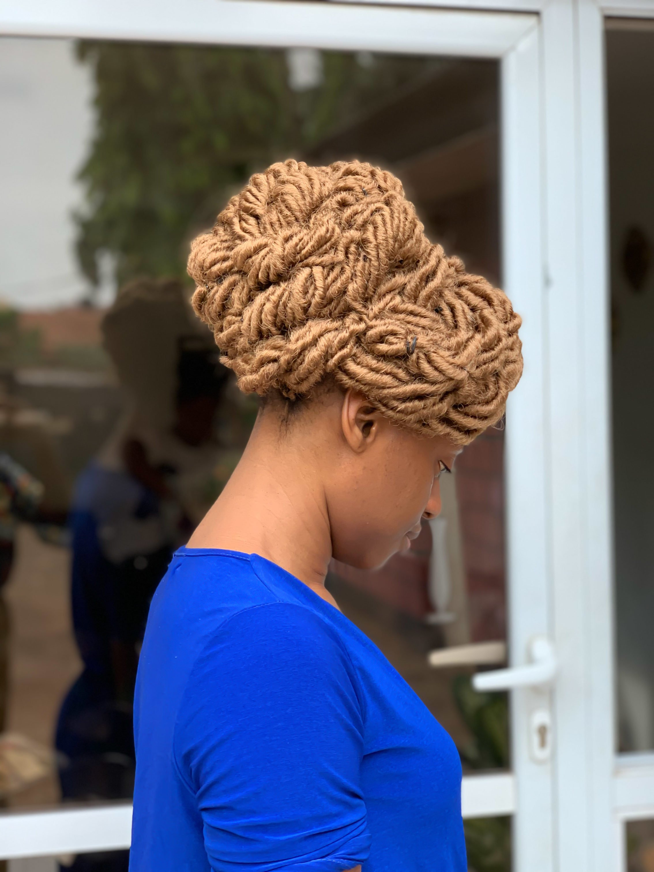 Crochet faux locs by ST Hair and Beauty