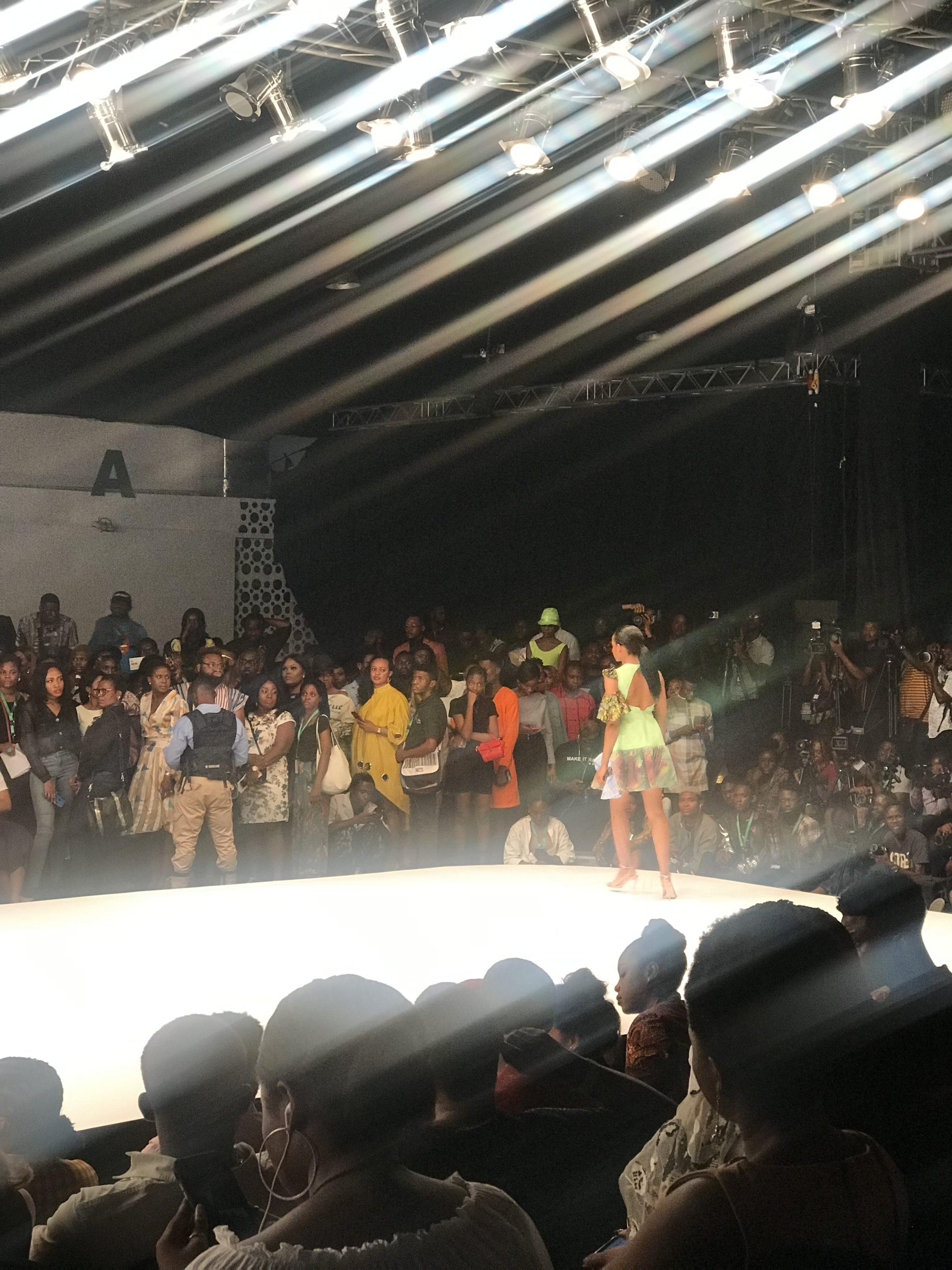 runway shows at Lagos fashion week 2019