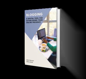 an e-book on blogging