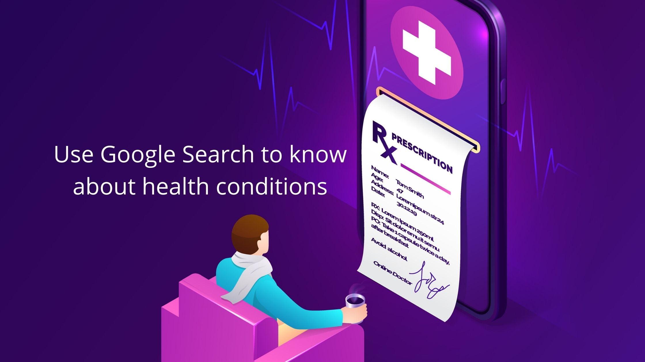 getting prescription for a health condition