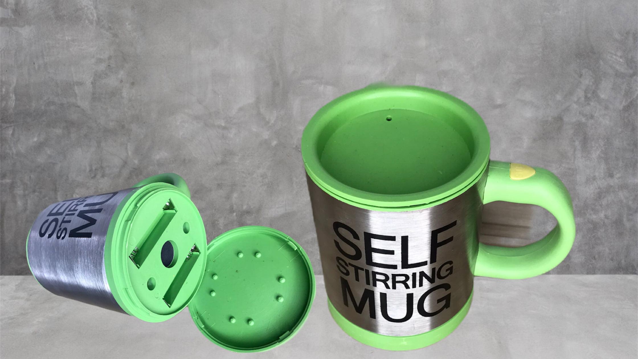 Stirring mug