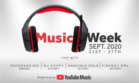 Announcing YouTube Music Week In Nigeria