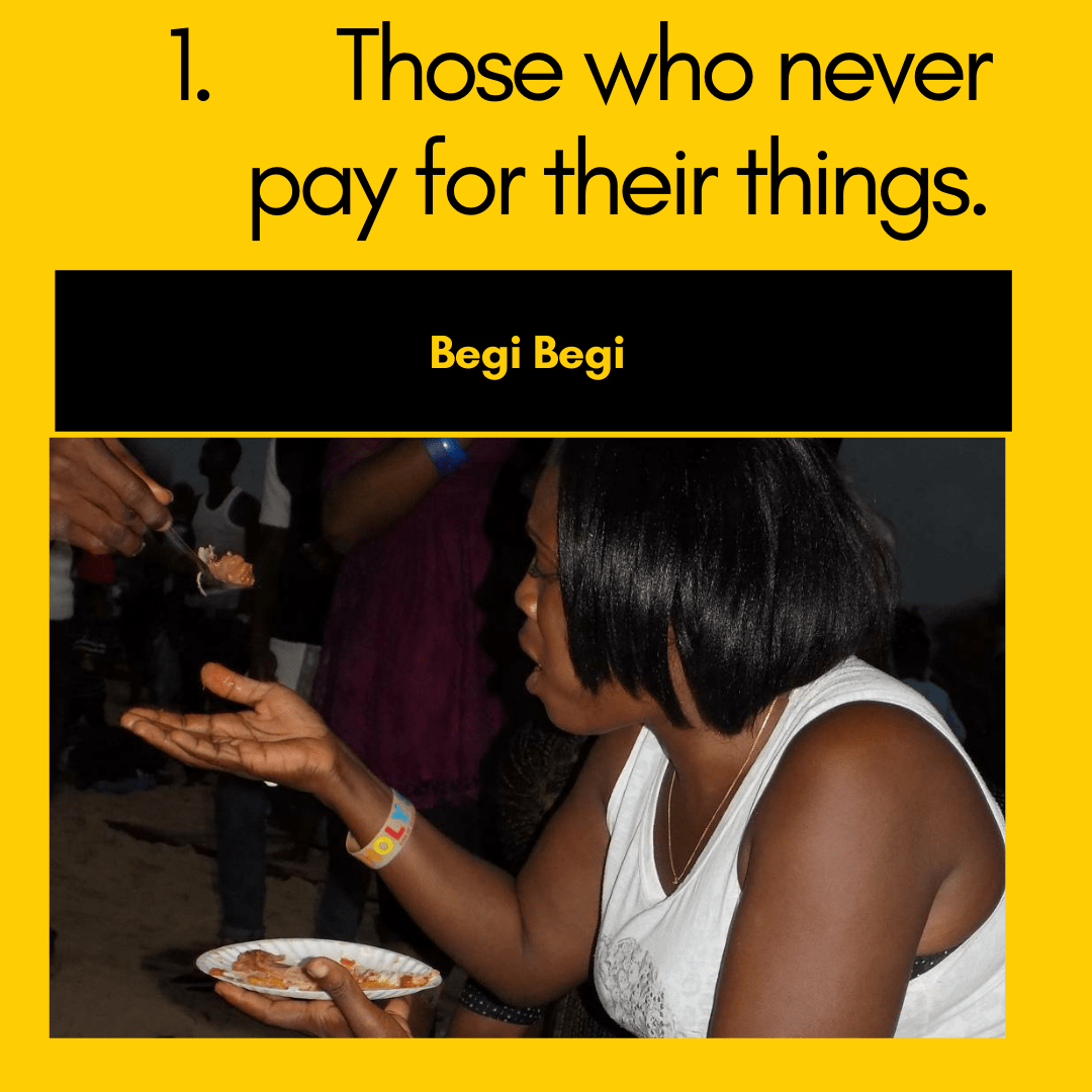 a woman begging for rice