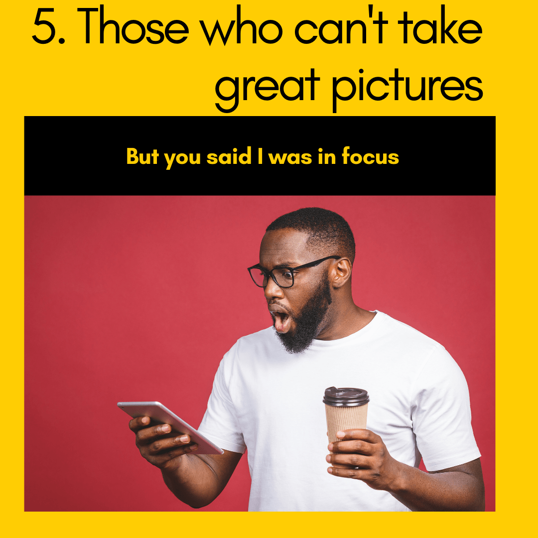 a man shocked while looking at his phone and holding coffee