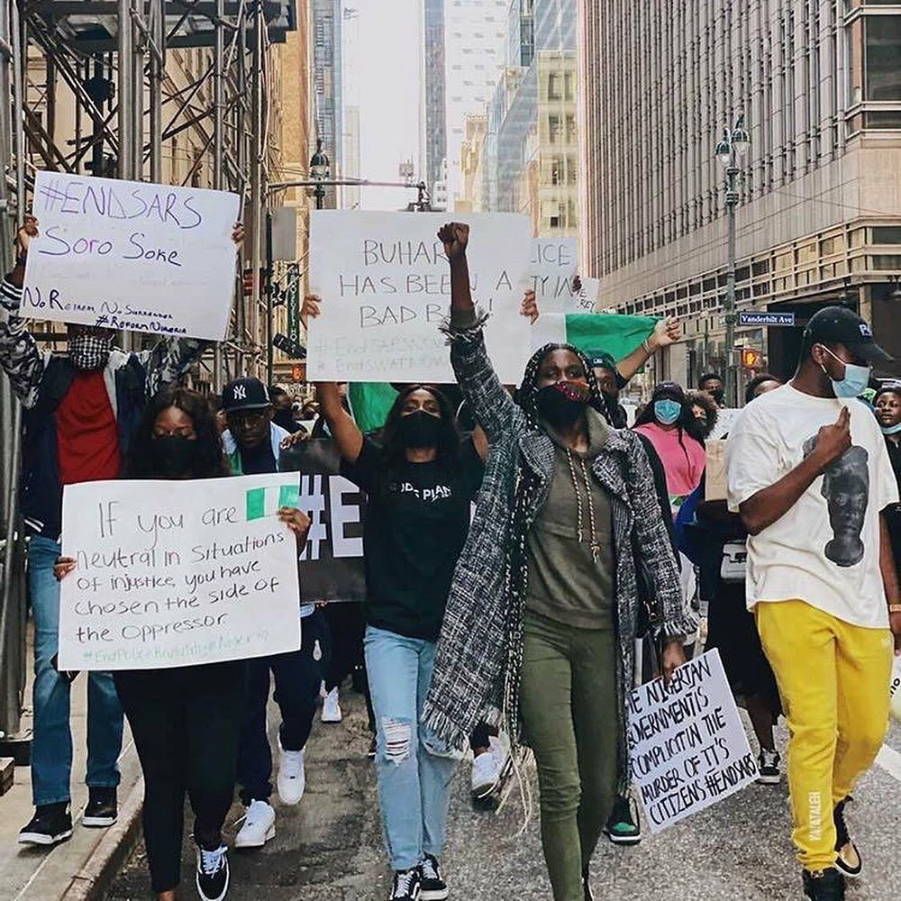 protests in NewYork