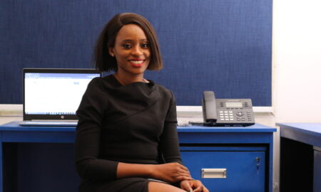Oma Ehiri, Corporate Communications Manager for a Corporate Finance Company