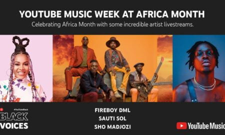 Celebrate Africa Month with YouTube Music