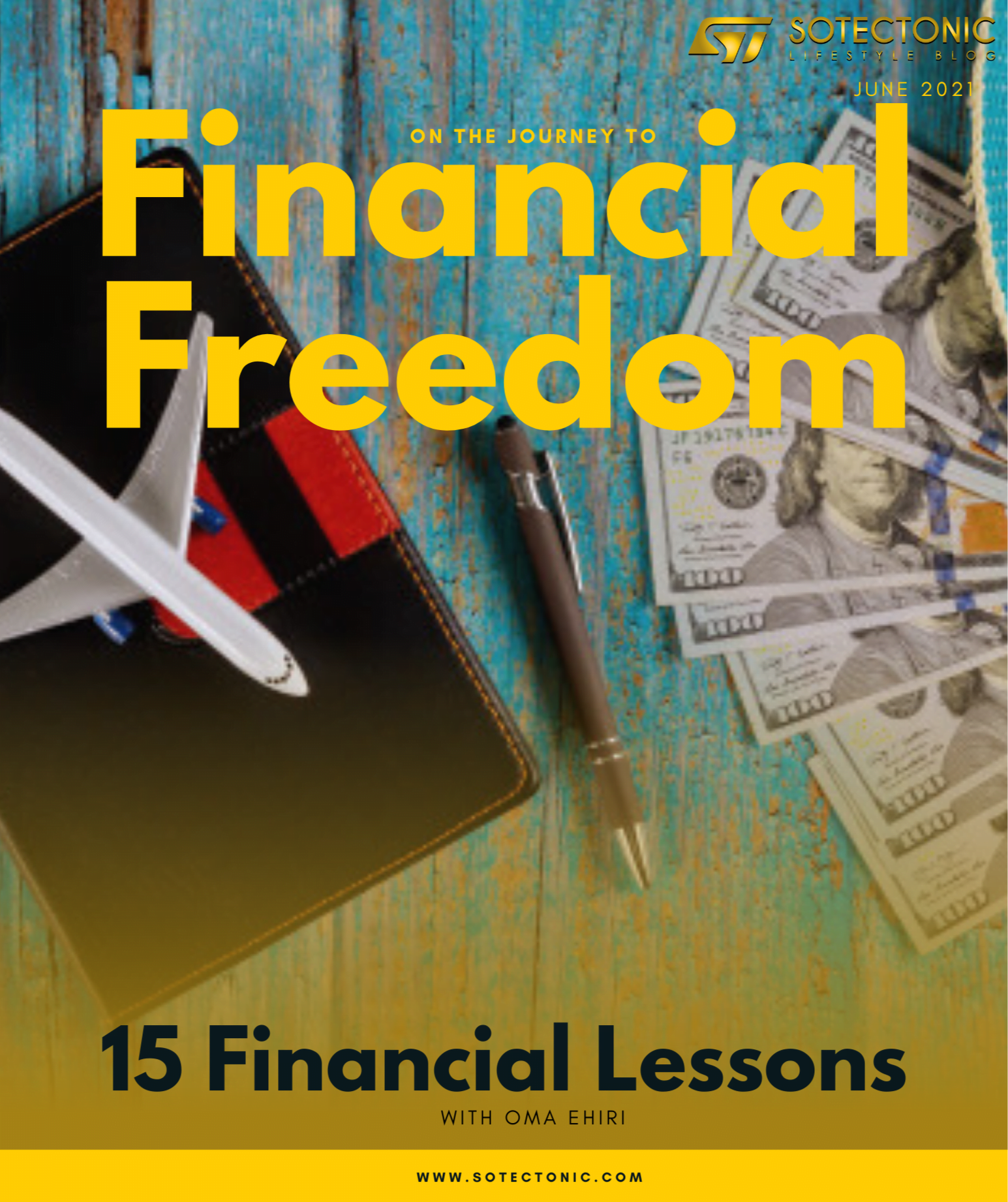magazine cover on financial freedom