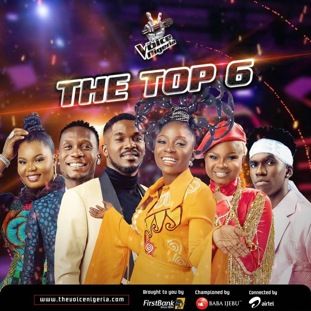 top 6 the voice nigeria season 3