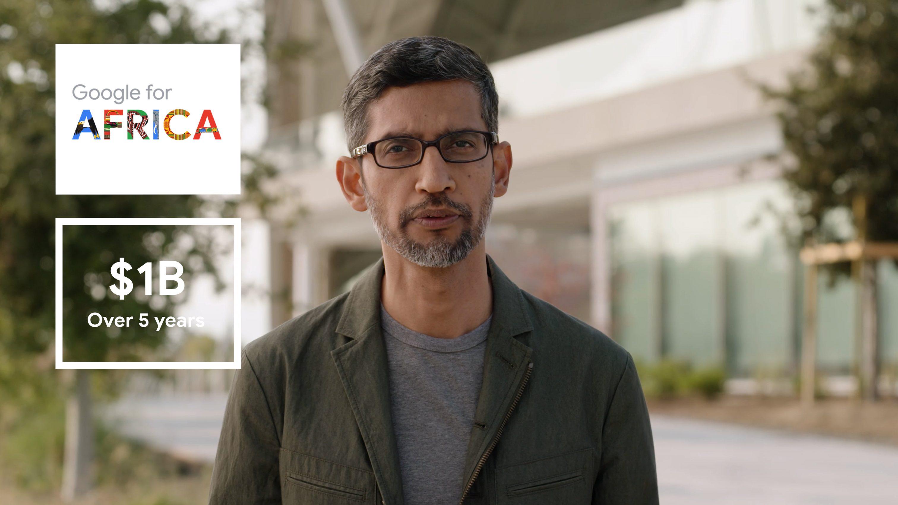 CEO of Google and Alphabet, Sundar Pichai
